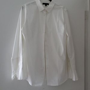 Banana Republic White Blouse 12
